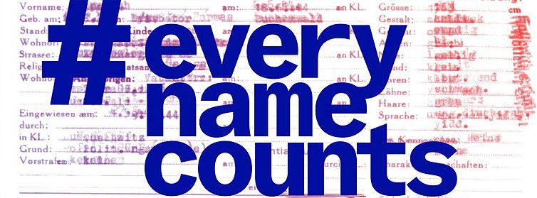 Logo der Initiative #everynamecounts